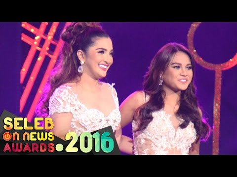 "Ashanty Feat. Aurel "" Cinta Terbaik "" - Seleb On News Awards 2016"
