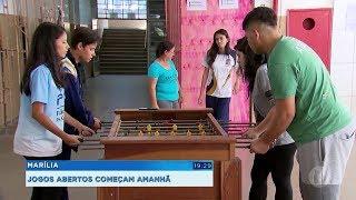 Jogos abertos do interior vão movimentar Marília