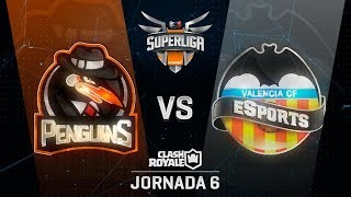 SUPERLIGA ORANGE - PENGUINS VS VALENCIA  - Jornada 6 - #SuperligaOrangeCR6