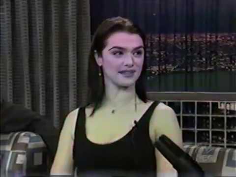 Conan O'Brien 'Rachel Weisz 4/30/03