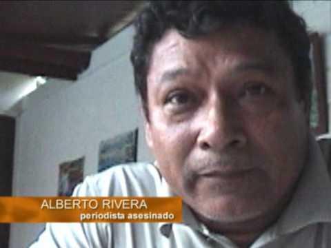 El asesinato de Alberto Rivera