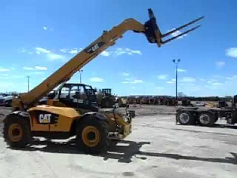 CATERPILLAR MANIPULADOR TELESCÓPICO TH514C equipment video 9tLsdsYlRao