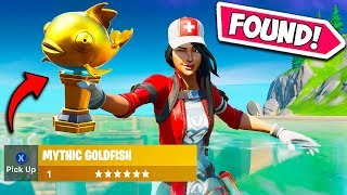 *FIRST EVER* RARE MYTHIC FISH FOUND!! - Fortnite Funny Fails and WTF Moments! #717