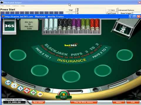 Blackjack Sniper Review How It Works Black Jack Hacks  Online Blackjack Software
