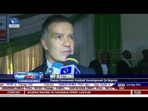 Piazza Commends Football Development In Nigeria
