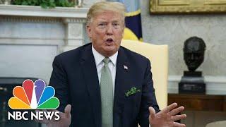 President Donald Trump On Beto O'Rourke: 'I've Never Seen Hand Movement Like That'| NBC News