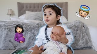 Video ELLE WANTS A BABY BROTHER!!! (ADORABLE) MP3, 3GP, MP4, WEBM, AVI, FLV Februari 2018