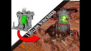 The ULTIMATE Minecraft Nether Portal ORC City!