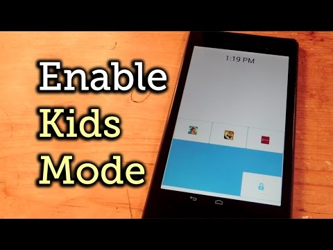 Enable Kids Mode on Any Android Phone or Tablet [How-To]