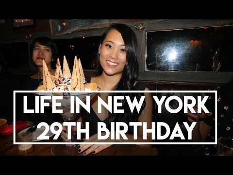 Life in New York - 29th Birthday Vlog (where to get free birthday goodies)