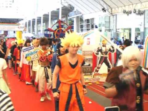 Cosplay Parade in Thai-Japan Anime&Music Festival #3 Day 2