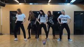 EXID 'Ah Yeah' mirrored Dance Practice