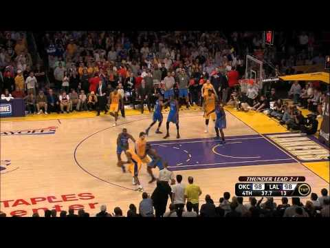 KD ices the Lakers as OKC takes Game 4, 103-100