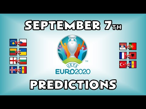EURO 2020 QUALIFYING MATCHDAY 5 - PART 3 - PREDICTIONS