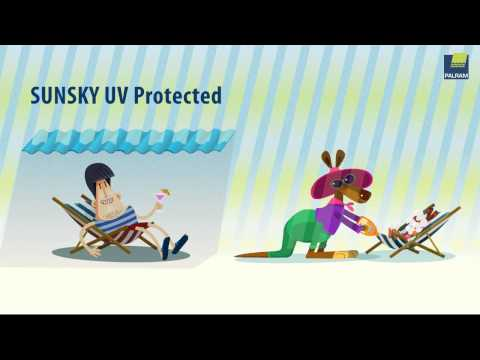 Complete UV Protection by SunSky® Panels