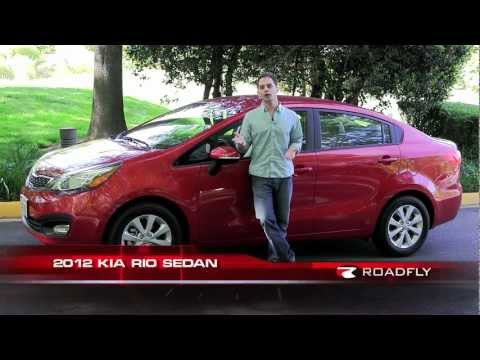 2012 Kia Rio Sedan Test Drive & Car Review with Ross Rapoport by RoadflyTV