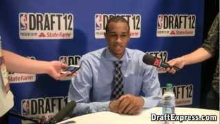 John Henson 2012 NBA Draft Media Day - DraftExpress