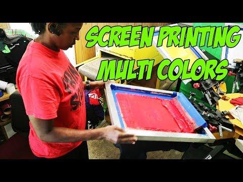 4 Color Screen Print Design