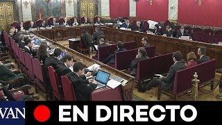 [EN DIRECTO JUICIO PROCÉS] Excargos de la Generalitat para Exterior y observadores internacionales