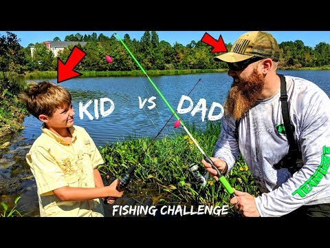 Video DAD vs KID Fishing CHALLENGE (Loser Does WHAT???) download in MP3, 3GP, MP4, WEBM, AVI, FLV January 2017