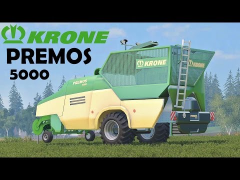 Krone Premos 5000 v2.0 washable