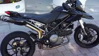 4. 2010 Ducati Hypermotard with Termigoni exhaust, carbon fender, performance seat, cpu flash