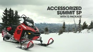 9. Accessorized 2016 Summit SP with T3