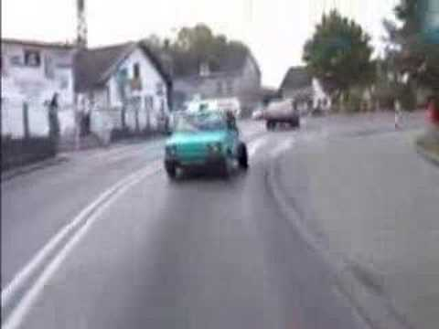 Crazy ass Polish fiat 126p