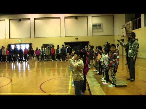 平成25年12月9日 京都市立柏野小学校人権音楽集会