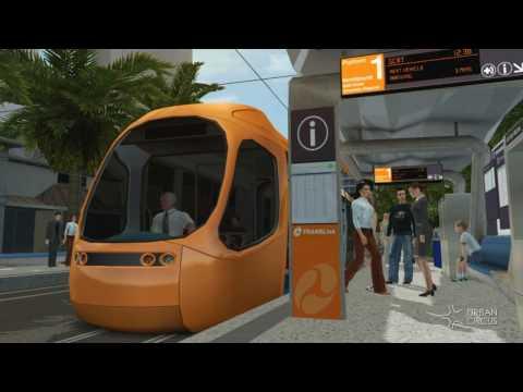 Gold Coast Light Rail (Tram) - Cavill Avenue