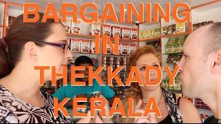 Thekkady India  city photos gallery : Shopping in Thekkady Kerala India