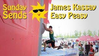 James Kassay, Easy Peasy | Sunday Sends by OnBouldering