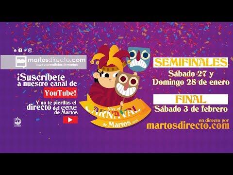 DIRECTO  PRIMERA SEMIFINAL COAC 2018 DE MARTOS  MARTOS DIRECTO
