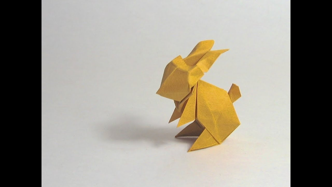Picture of [aged] Easter Origami Directions Rabbit (Jun Maekawa)