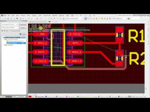 Altium Designer Tutorial: Schematic capture and PCB layout (2of2)