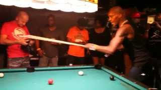 """DMX Shoots Pool, Sings Nelly's """"Hot In Herre"""""""