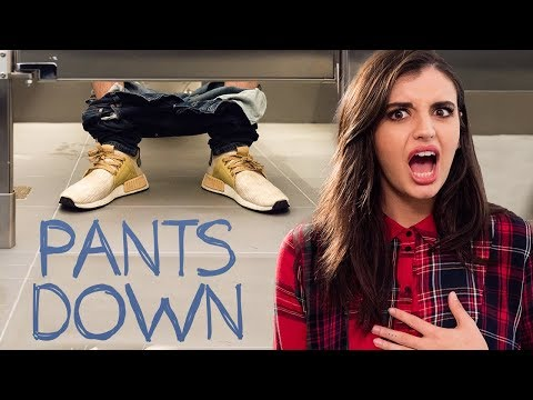 BLIND DATE IN A BATHROOM | Flushed W/ Rebecca Black