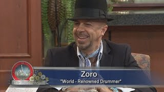 Zoro on Its Time with Herman & Sharon Show