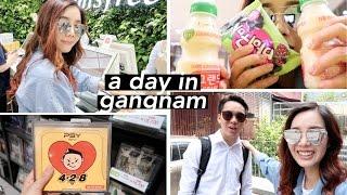 Working in Gangnam + Unboxing Psy's Album