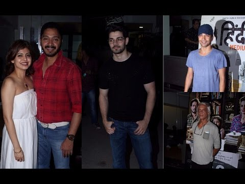Shreyas Talpade | Sooraj Pancholi | Deepak Dobriyal | Screening Of Movie Hindi Medium
