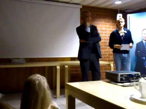 presidenttivaalit - Pekka Haavisto vastaa aaltolaisten opiskelijoiden kysymyksiin Otaniemen rantasaunalla su 2012-01-15 HUOM! Video ja ääni katoavat n. kohdassa 10:07. Tämä joht...