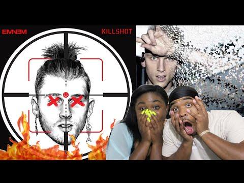 R.I.P MGK 😱🔥| Eminem - #KILLSHOT (MGK Diss) | REACTION!!!!