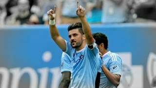 """David Villa 2015 All Goals for New York City Fc, music: Inception Trailer Music - Mind Heist (Hip-Hop Beat_Remix)Copyright Disclaimer Under Section 107 of the Copyright Act 1976, allowance is made for """"fair use"""" for purposes such as criticism, comment, news reporting, teaching, scholarship, and research. Fair use is a use permitted by copyright statute that might otherwise be infringing. Non-profit,educational or personal use tips the balance in favor of fair use.David Villa 2015 NYCFC Goals & SkillsDavid Villa all goals for New York City FC so far:1. David Villa First Goal for New York City FC 10.02.2015 vs. St Mirren   friendly2. David Villa first Goal in MLS 15.03.2015 vs New England Revolution3. David Villa goal vs Philadelphia Union 11.04.20154. David Villa goal vs Houston Dynamo 30.05.20155. David Villa goal vs Impact de Montreal 13.06.20156. 7.David Villa both goals vs Toronto 20.06.20158. David Villa scores from a tight angle _ Montreal Impact 04.079. David Villa free-kick goal vs Montreal impact 04.0710.David Villa free-kick vs Toronto 12.0711. David Villa second vs Toronto 12.0712.  David Villa first goal vs Orlando 26.0713. David Villa second goal vs Orlando 26.0714.  David Villa Shines at First MLS All-Star Game 29.0715. David Villa penalty vs Montreal impact 01.0816. David Villa Goal ~ New York City FC vs. D.C. United 3-1  MLS 13/08/2015 17. David Villa goal penalty vs LA Galaxy 23.08.2015"""