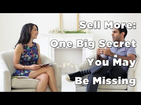 sell - C'mon over to : http://www.marieforleo.com/2013/05/sell-more/ where the main discussion happens after the episode! To sell more products or services in your ...