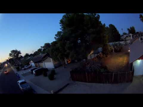 iFlight Cinebee 75HD - FPV Early Night Time Flight/WDR On