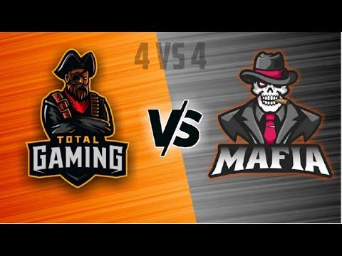 Total Gaming VS Team Mafia Class squad 4vs4 || Best 4vs4 Class Squad in Free Fire