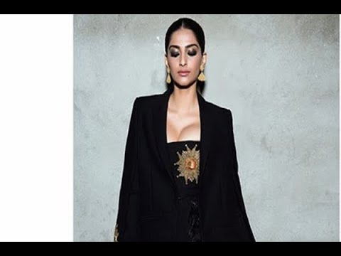 In Graphics: See the pictures of Sonam Kapoor from Filmfare 2018