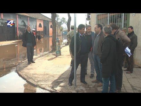 Vicepresidente Raúl Sendic recorrió la zona afectada por la creciente en Paysandú
