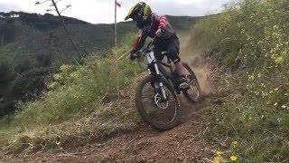 Elba Gravity Park 2016 - Slow Motion Tornante
