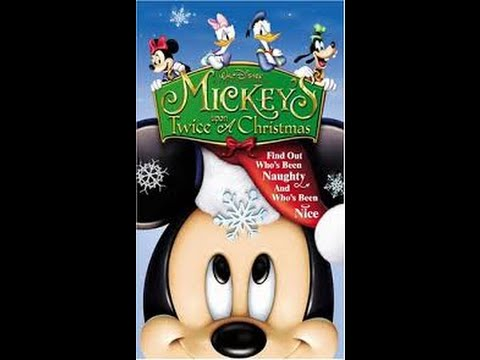 Opening to Mickey's Twice Upon a Christmas 2004 VHS